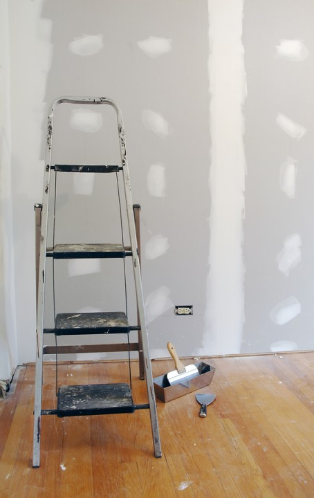 Drywall repair by Danieli Painting.
