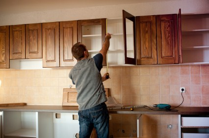 Cabinet refinishing in Ward Hill MA