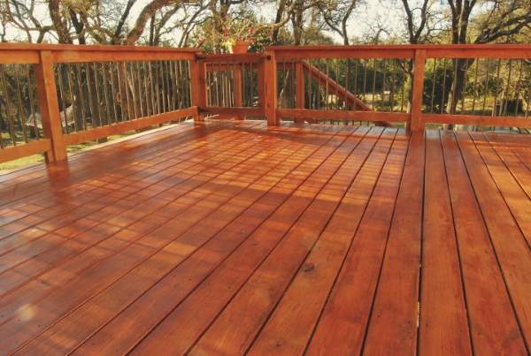 Danieli Painting Deck Staining